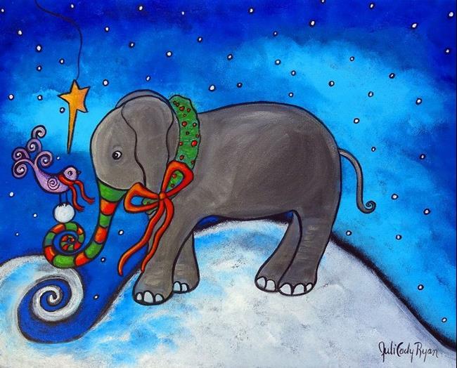 Art: Sharing Christmas by Artist Juli Cady Ryan