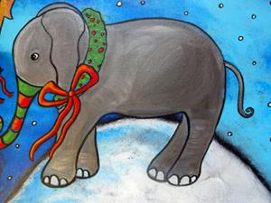 Detail Image for art Sharing Christmas