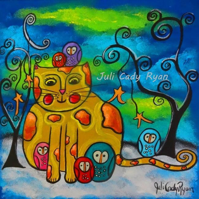 Art: Unlikely Friends by Artist Juli Cady Ryan
