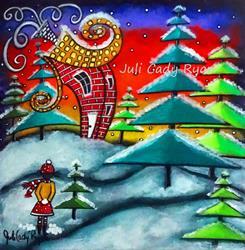 Art: The Snowball Fight by Artist Juli Cady Ryan