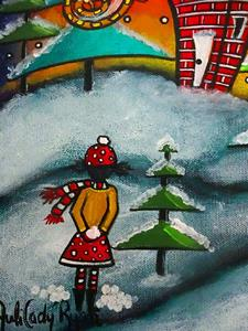 Detail Image for art The Snowball Fight