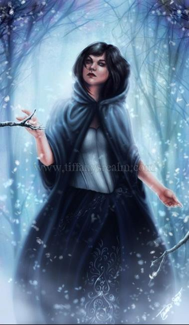 Art: Winter Spirit by Artist Tiffany Toland-Scott