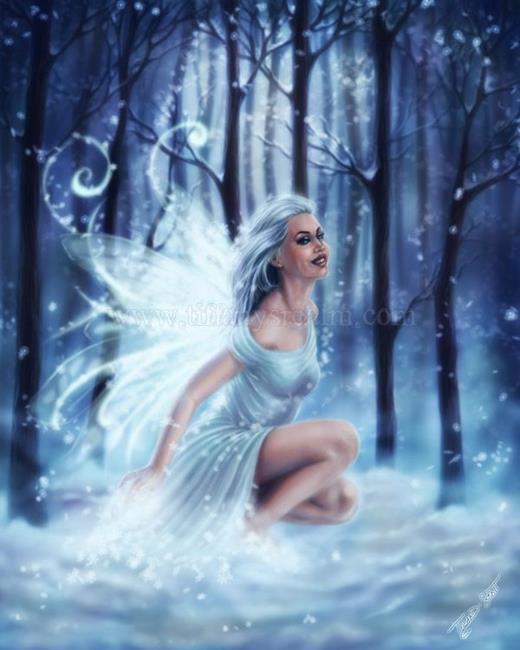 Art: Awaking Winter by Artist Tiffany Toland-Scott