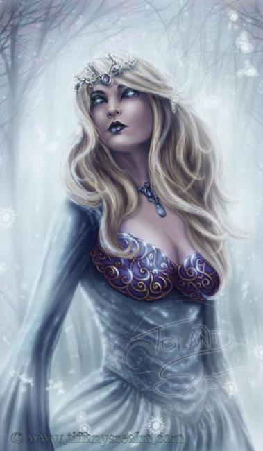 Art: Winter Queen by Artist Tiffany Toland-Scott