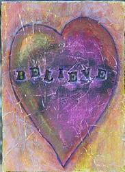 Art: Believe by Artist Dianne McGhee