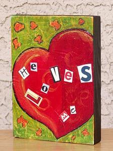 Detail Image for art He Loves Me