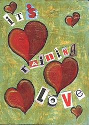 Art: It's Raining Love by Artist Dianne McGhee