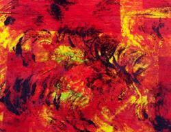 Art: Fire Dance by Artist Joseph J. Callahan