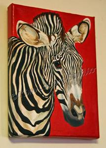 Detail Image for art The Zebra Riddle