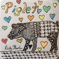 Art: Piglet - Zentangle Inspired by Artist Ulrike 'Ricky' Martin