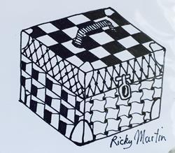 Art: Box - Zentangle Inspired by Artist Ulrike 'Ricky' Martin