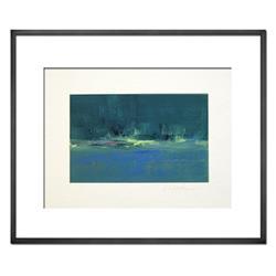 Art: Teal Shores - Sold by Artist victoria kloch