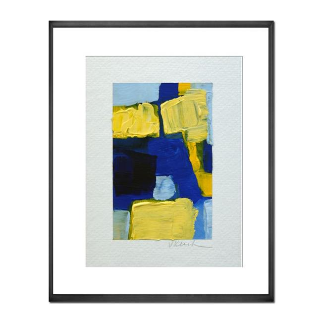 Art: Blue Berry on Top by Artist victoria kloch