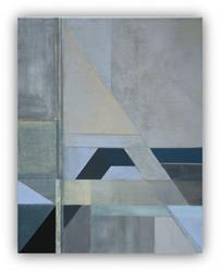 Art: Geometric 'Outside Up' by Artist victoria kloch