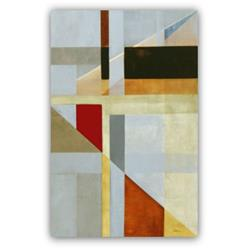 Art: Geometric 'On the Up and Up' - Sold by Artist victoria kloch
