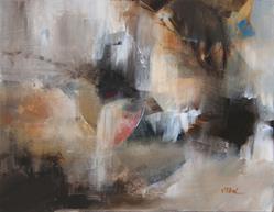 Art: Crystal Cavern - Sold by Artist victoria kloch