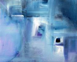 Art: Winter - Sold by Artist victoria kloch
