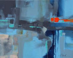 Art: 24 x 30 Commission Piece by Artist victoria kloch