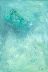 Art: Violet - Sold by Artist victoria kloch