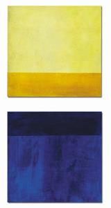 Detail Image for art Blue and Yellow Color Field