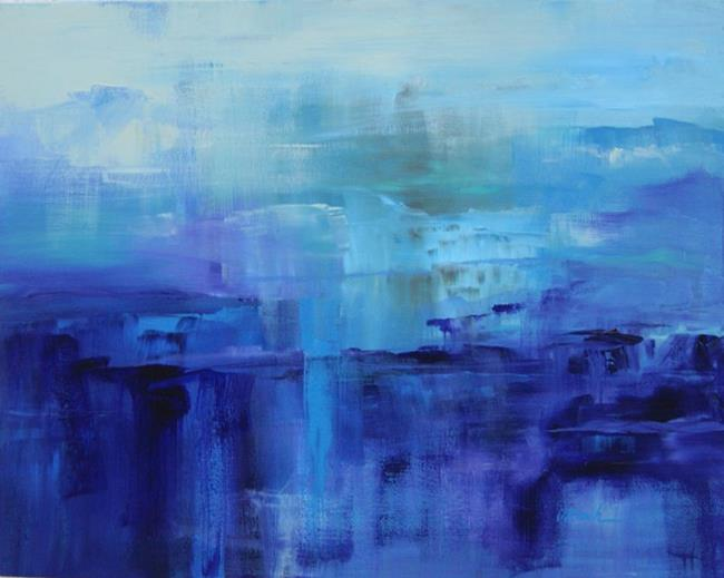 Art: Purple Haze - Sold by Artist victoria kloch