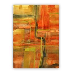 Art: Autumn Lights - Sold by Artist victoria kloch