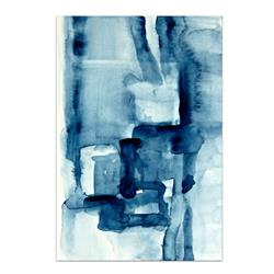 Art: Blue Blocks - Sold by Artist victoria kloch