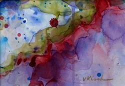 Art: One - Sold by Artist victoria kloch