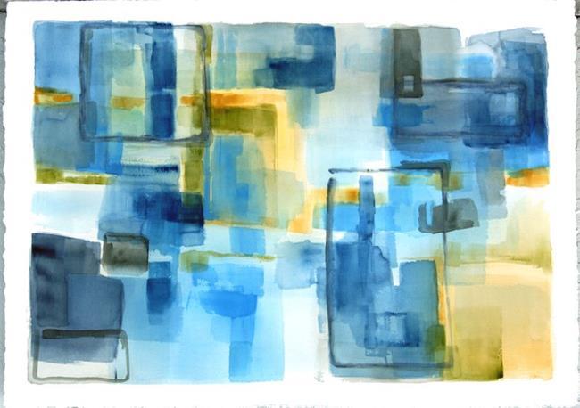 Art: Watercolor Commission 29 x 41 by Artist victoria kloch