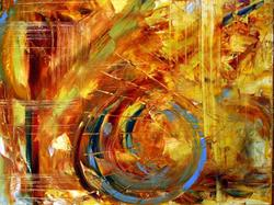 Art: Turning Fall by Artist Laurie Justus Pace