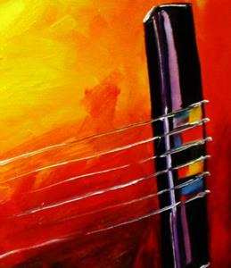 Detail Image for art The Guitar