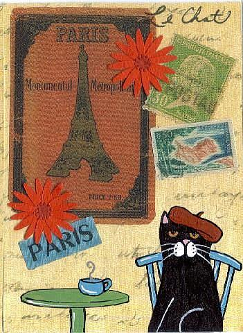 Art: Coupon in Paris #2 art card by Artist S. Olga Linville