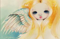 Art: Soft Wings by Artist Nico Niemi