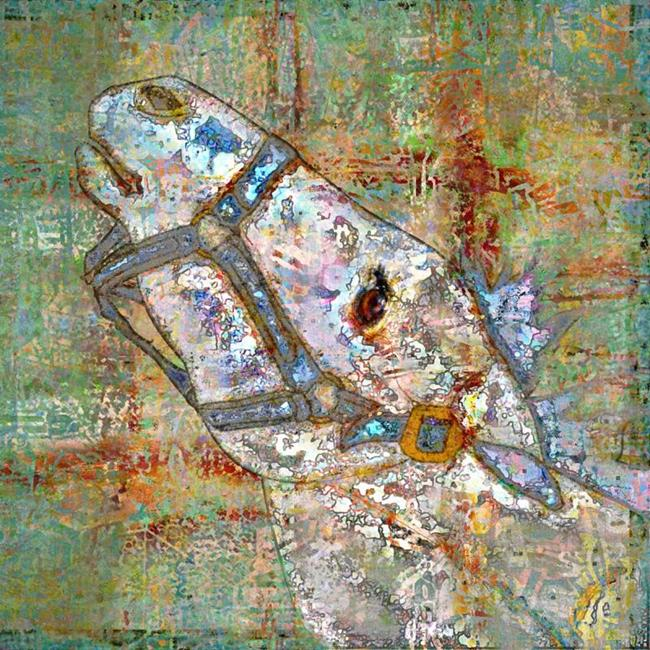 Art: Horse Head by Artist Mary Ogle