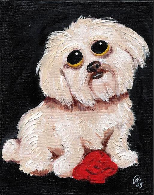 Art: Kellys Sweet Barkley by Artist Noelle Hunt