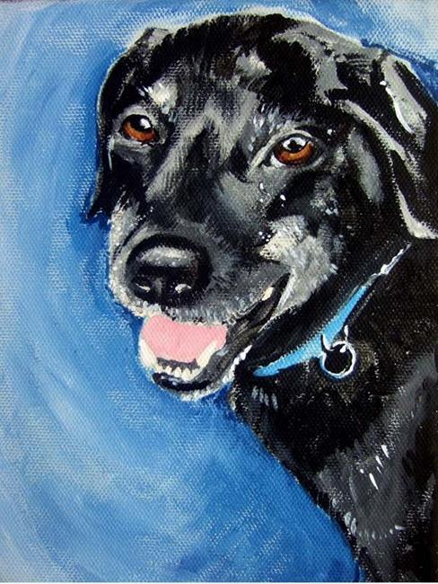 Art: Pet Portrait Chance Carly Snyder's boy by Artist Noelle Hunt