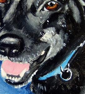 Detail Image for art Pet Portrait Chance Carly Snyder's boy