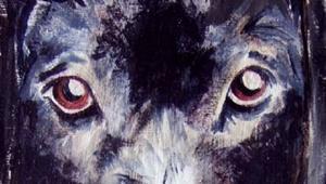 Detail Image for art Bonnie the Dog & Mr. Mallard