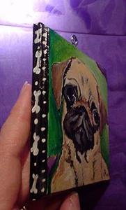 Detail Image for art Polka dot Pug Luv