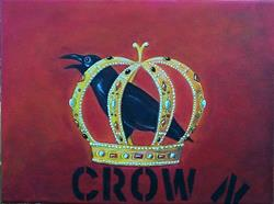 Art: Crow-N by Artist Marina Owens