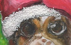 Detail Image for art Santa Hound