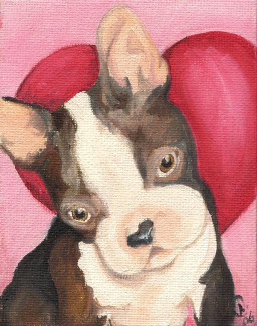 Art: Bostie love by Artist Noelle Hunt