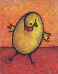 Art: Egg Chicken  by Artist Marina Owens