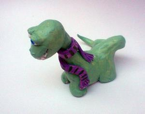Detail Image for art Denis the last Dinosaur