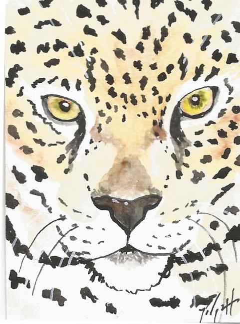 Art: jaguar by Artist Padgett Mason