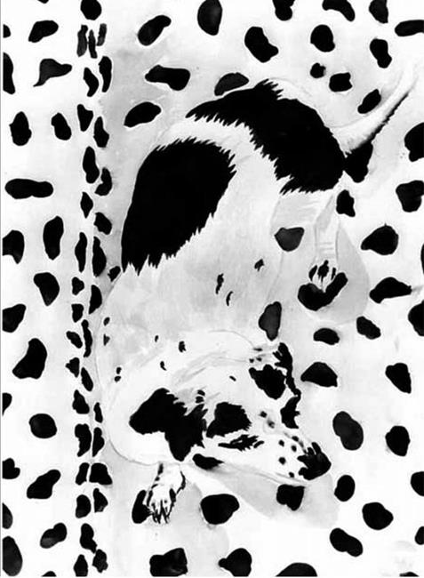 Art: spottedog by Artist Naquaiya