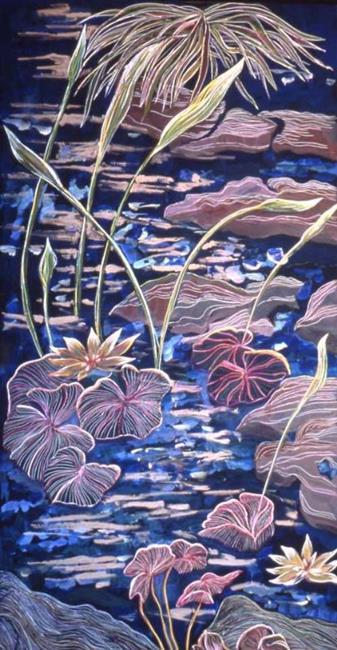 Art: waterlily 1 by Artist Naquaiya