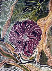 Art: crysanthemum by Artist Naquaiya