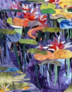 Detail Image for art Waterlily Quilt