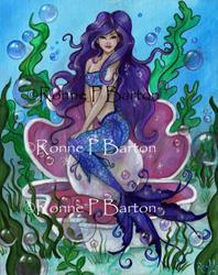 Art: Pearl.jpg by Artist Ronne P Barton